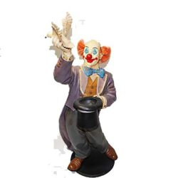 Clown with Dove