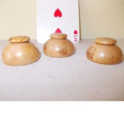 Mini Wooden Cups