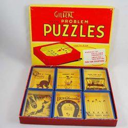 Gilbert Metal Puzzles