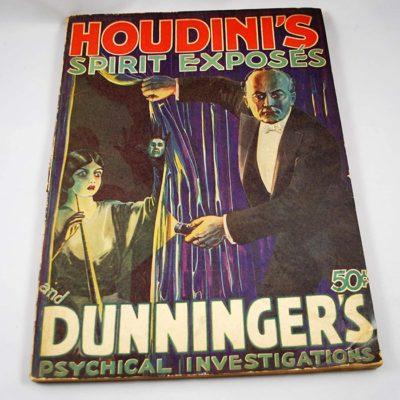 Houdini's Spirit Expose by Dunninger