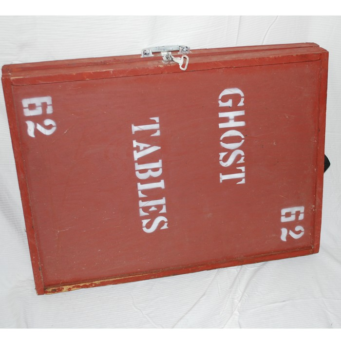 Bill Neffu0027s Own Ghost Tables From His Spook Show
