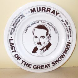 MURRAY THE ESCAPOLOGIST PLATE