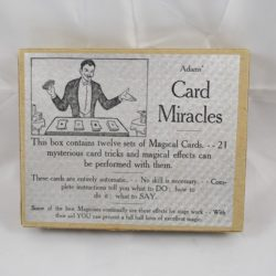 Early Adam's Magic set of Trick Cards