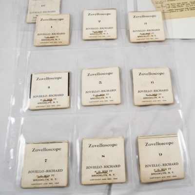 Complete set of ZoveHoscope card manipulation series. Very Rare Flip type books 1934