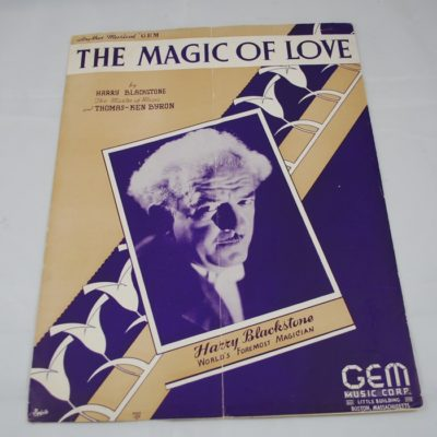 Blackstone's Magic of Love Sheet Music 1949