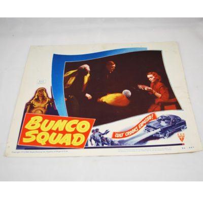 Dante Bunco Squad Lobby Card: original 1950