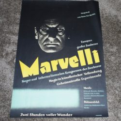 Original Marvelli one sheet poster: mint