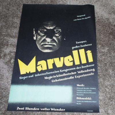 Original Marvelli one sheet poster: mint