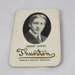 Thurston Wrigley's Gum Throw-out card: rare
