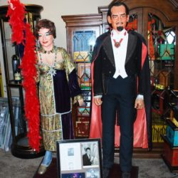 Barclay Shaw constructed Jack and Anne Gwynne Life-sized Marionettes: one of a kind