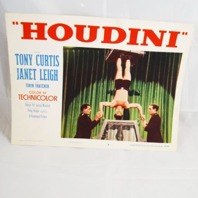 Houdini the movie Lobby Card: 1953