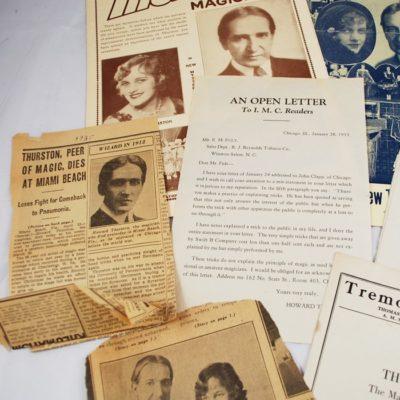Thurston memorabilia package
