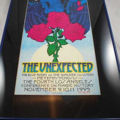 4th LA Conference on Magic History poster: 1995 artist signed the Blue Room