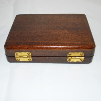 Vintage card box: well made