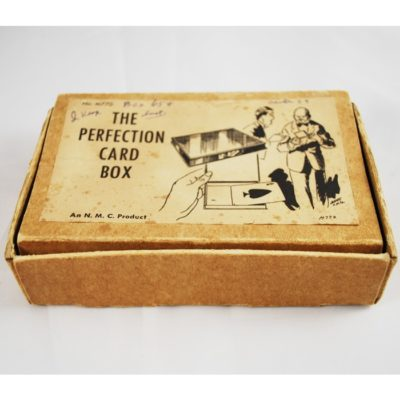 National Magic Perfect card box: Pristine with all original packaging