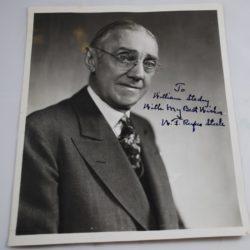 Rufus Steele autographed photo