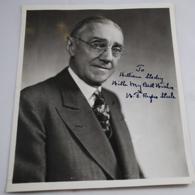 Rufus Steele autographed photo