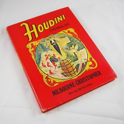 Houdini A Pictorial Life: Christopher autographed by author