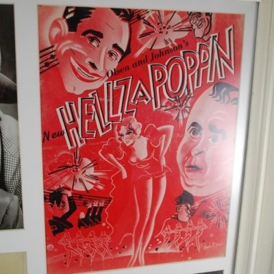 HellzaPoppin Collage autographed and featuring Hardeen