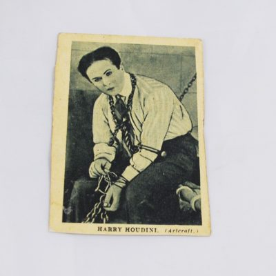 Houdini Boy's Cinema Card 1922
