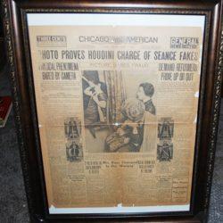 Houdini Minnie Reichert Séance exposure Chicago American 1926