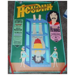 Doug Henning Television Special Water Torture Poster