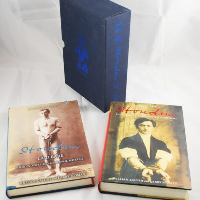 Deluxe edition of the secret Life of Houdini: number 138 of 1000