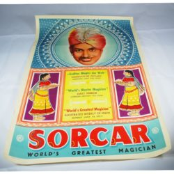 Original Sorcar Poster from 1950: half sheet