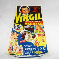 Virgil Full Color Indian Rope trick panel poster
