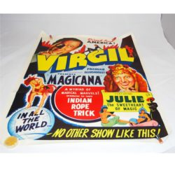 Virgil full color one sheet direct from America poster