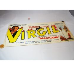 "Virgil ""Bus Side"" poster form 1950's"