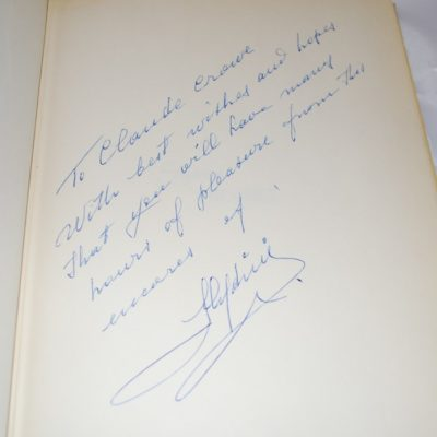 Slydini Encores: Autographed to the former owner
