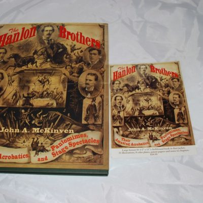 Autographed: The Hanlon Brothers by John A. McKinven 1998 first Edition
