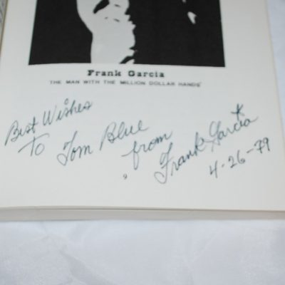 Autographed Wild Card Miracles by Frank Garcia: original first edition