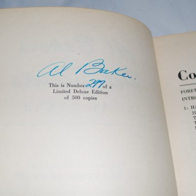 Autographed Al Baker's pet secrets 1951 number 277 of a signed limited edition of 500