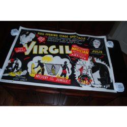 VIrgil One sheet Jungle Poster: 1950's