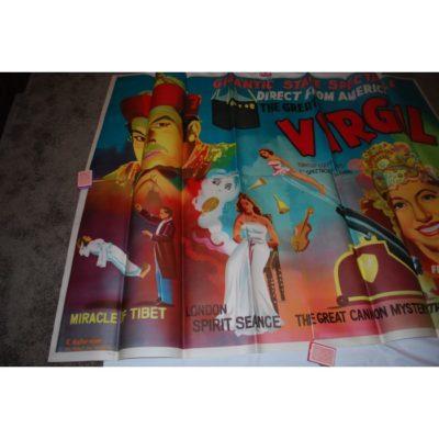 Virgil full Color 4 sheet poster: 1950's Like new
