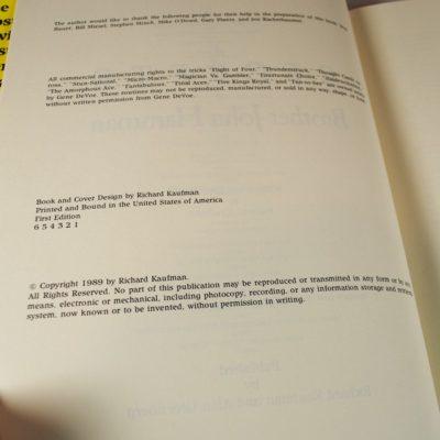 Secrets of Brother John Hamman: 1st edition first print 1989 Mint