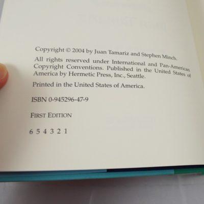 Jaun Tamariz Mnemonica: His work on the memorized deck: first edition first print 2004
