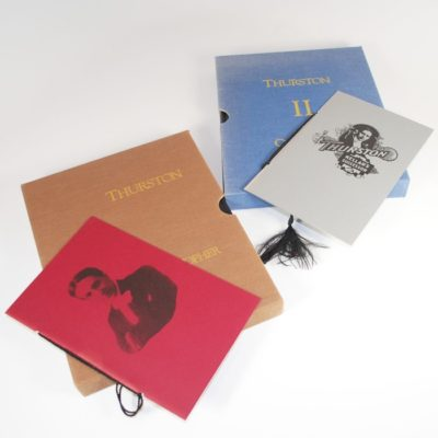 Howard Thurston Illusion Show Workbook one and two: only 500 of each printed