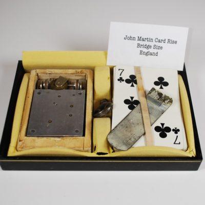 Jon Martin Bridge Sized rising cards: rare