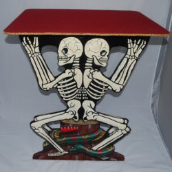 John Daniel Skeleton Center table: single table