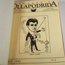 Complete original bound file of Alton Sharpe's Ollapdrida: