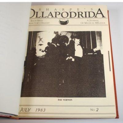 Complete original bound file of Alton Sharpe's Ollapdrida: