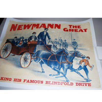 Original Newmann Blindfold Drive poster