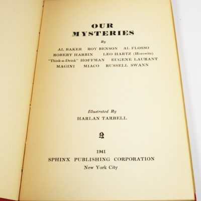 Our Mysteries illustrated by Tarbell
