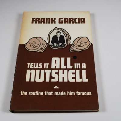 Frank Garcia Tells It All in A Nutshell