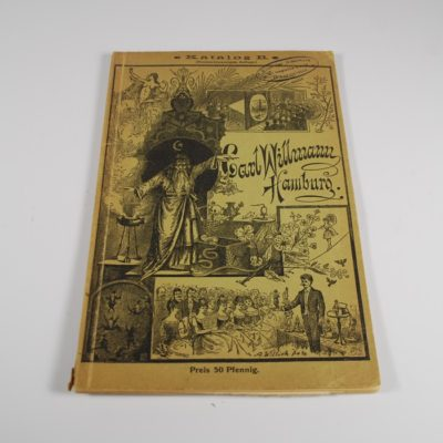 Carl Willmann 1890's Catalogue very rare