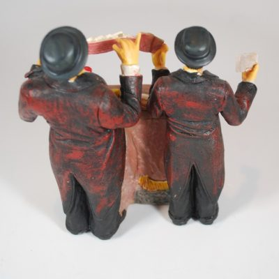 Laurel and Hardy Magicians Figurine