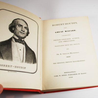 Memoirs of Robert Houdin 1944 Carl Jones Edition